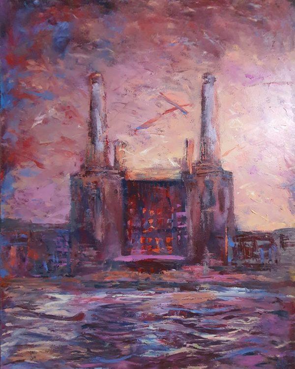 Battersea Power Station -Magenta
