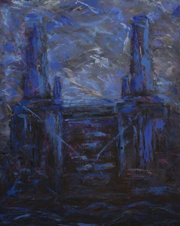 Battersea Power Station -Blue Power